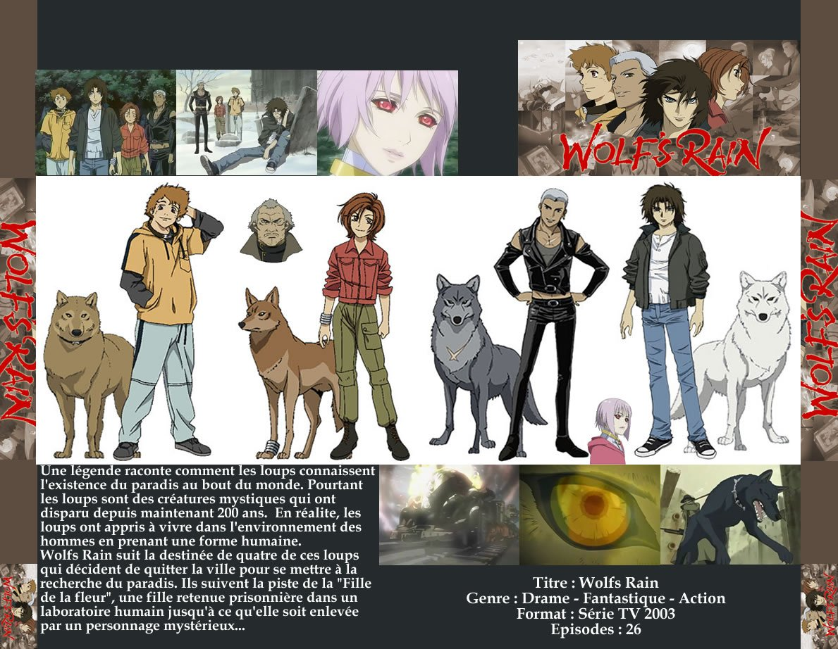 Hige(from wolf's rain) collar ...
